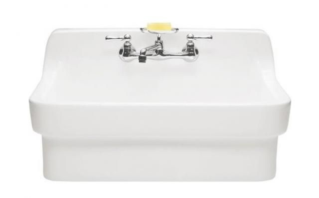 ... room. Made of durable vitreous china; $783.99 at Vintage Tub and Bath