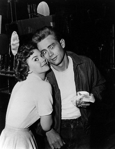 James Dean - Natalie Wood | Vintage Love | Pinterest