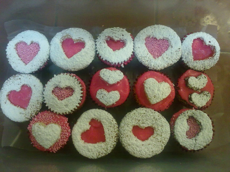 Little Cupcakes / Heart Shape | Cupcakes | Pinterest