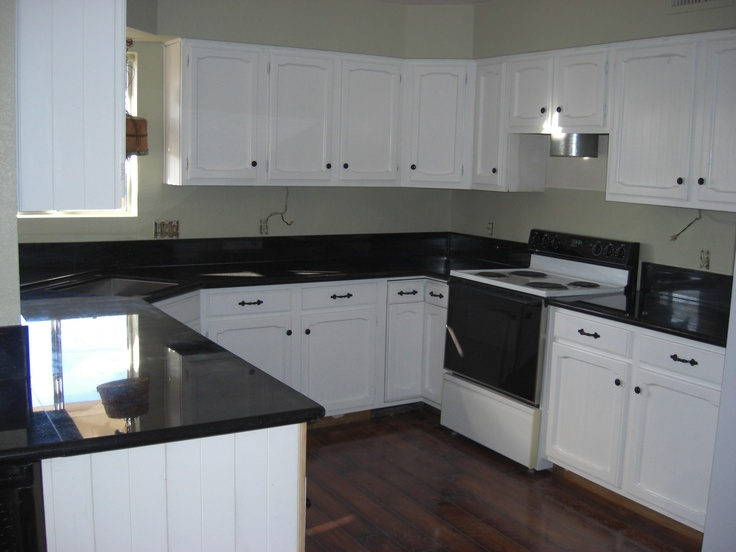 Kitchen cabinets after painting shoshone house pinterest - Kitchen cabinets pinterest ...