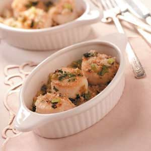 Broiled Scallops Recipe - awesome, I have tried with shrimp also. So ...
