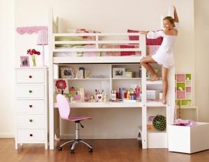 Loft bed w/ desk