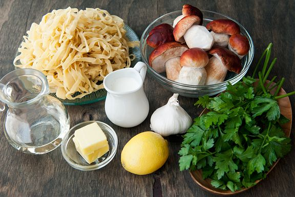 fresh porcini mushroom and pasta recipe | use real butter