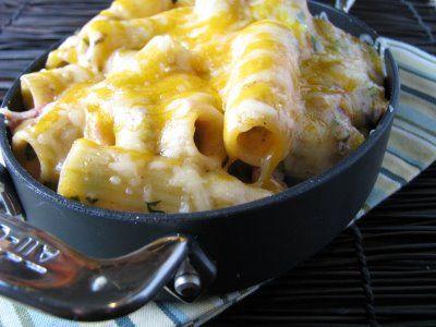 Cheesy Baked Mexi-rigatoni