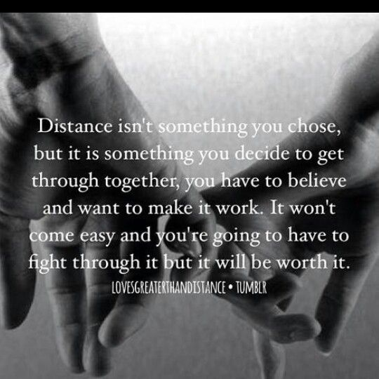 far away distance love quotes quotesgram