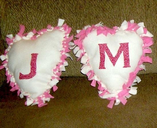 valentine pillows gift
