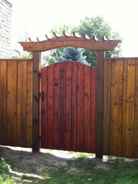 Star fencing gate ideas favorite places spaces pinterest for Backyard gate ideas