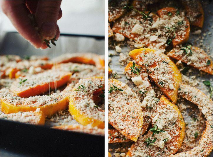 CRUSTED BUTTERNUT SQUASH | recipes | Pinterest