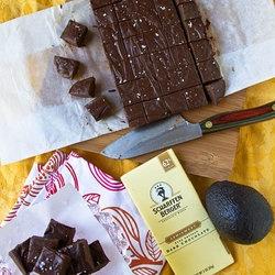 chocolate avocado fudge | fudGE | Pinterest