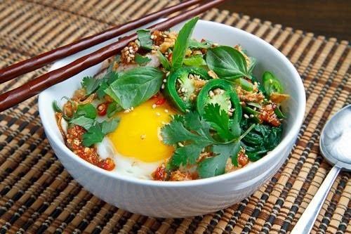 Sweet chili chicken rice bowl | Pollo | Pinterest