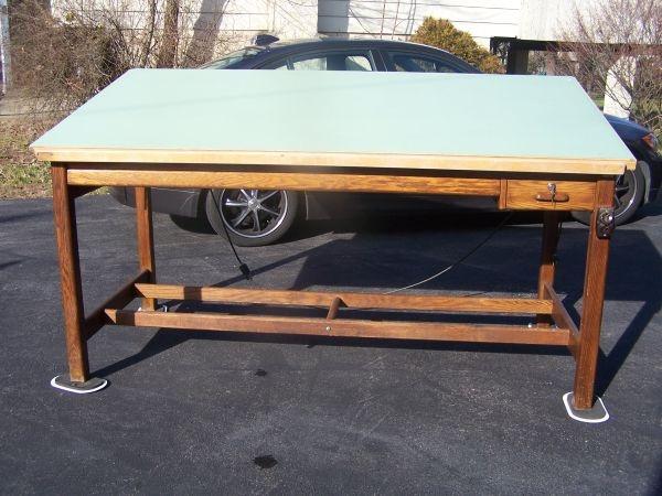 Craigslist drafting table work space pinterest