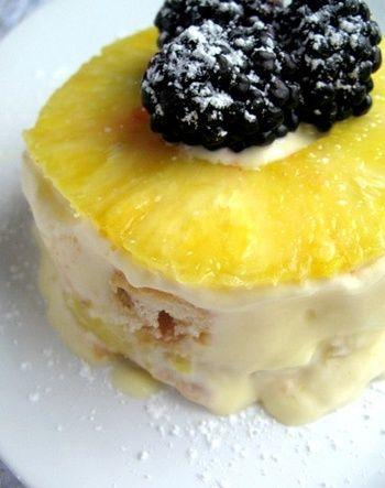 tropical tiramisu | yummyness | Pinterest