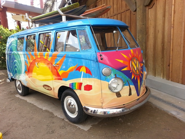 beach vw bus cars cars cars and everything cool. Black Bedroom Furniture Sets. Home Design Ideas