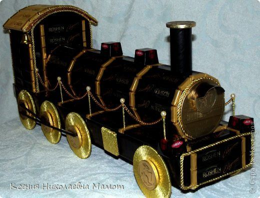 Поезд своими руками мастер класс 68