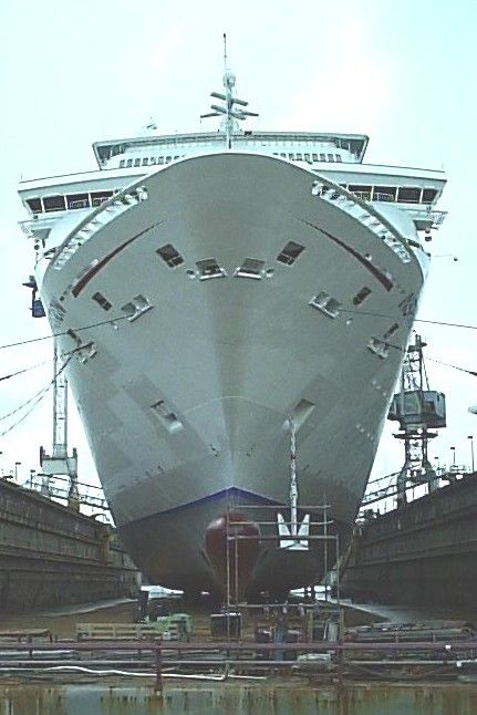 Dry Dock | Cruise Ship Structured Cabling Networks | Pinterest