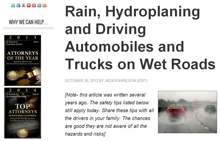 How to Drive Safely in the Rain pictures