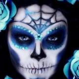 Scary halloween make up wooooooo