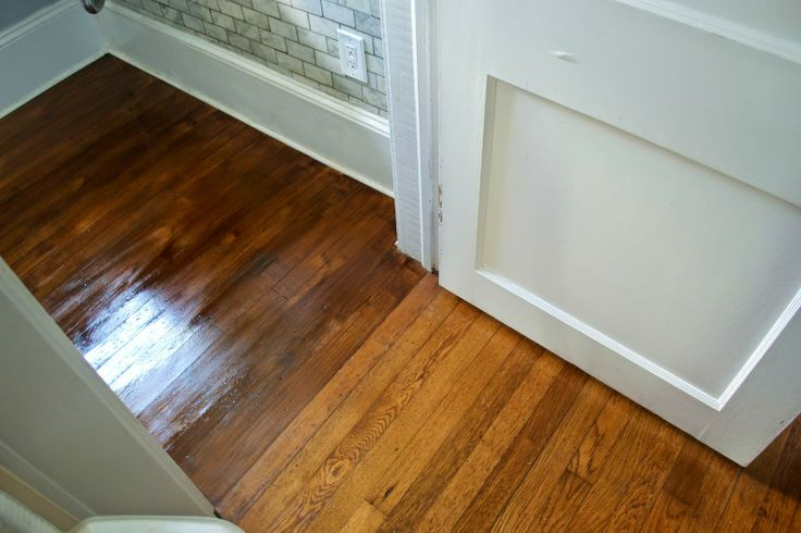 Staining A Wood Floor For The Home Pinterest