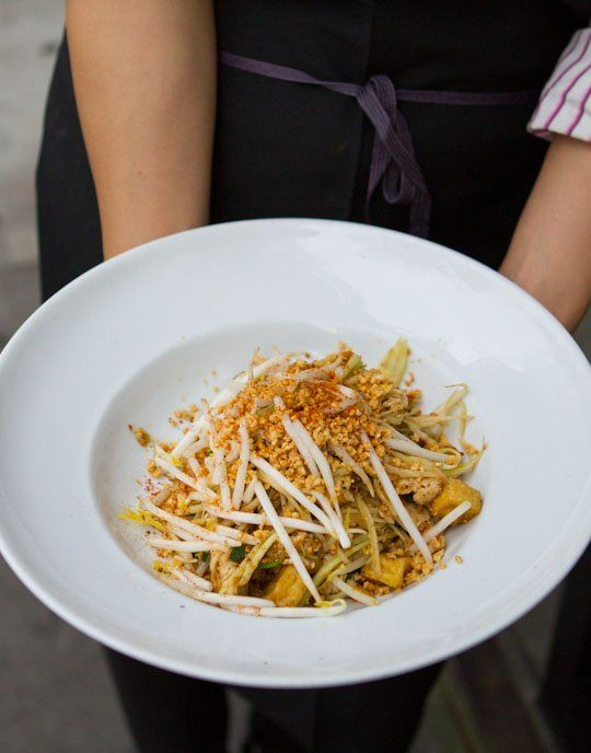 Green Papaya Pad Thai. This sounds like a carbo free stir-fry. Its an ...