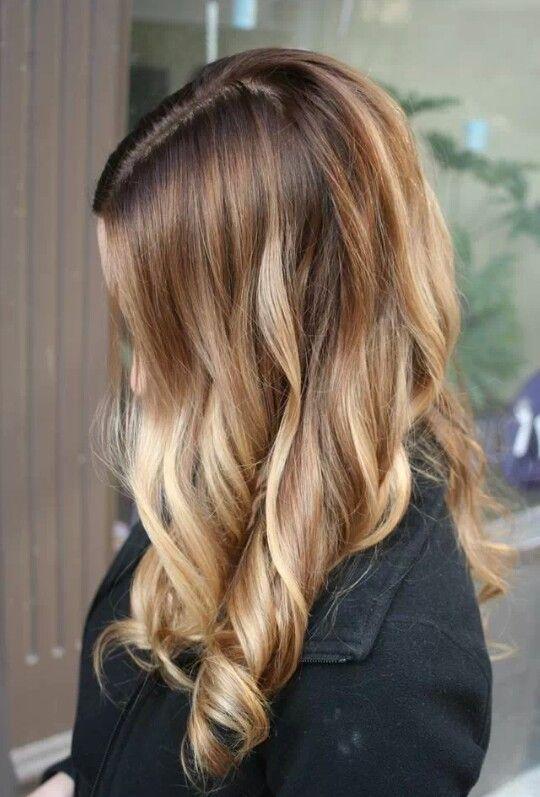 honey blonde ombre hair pinterest