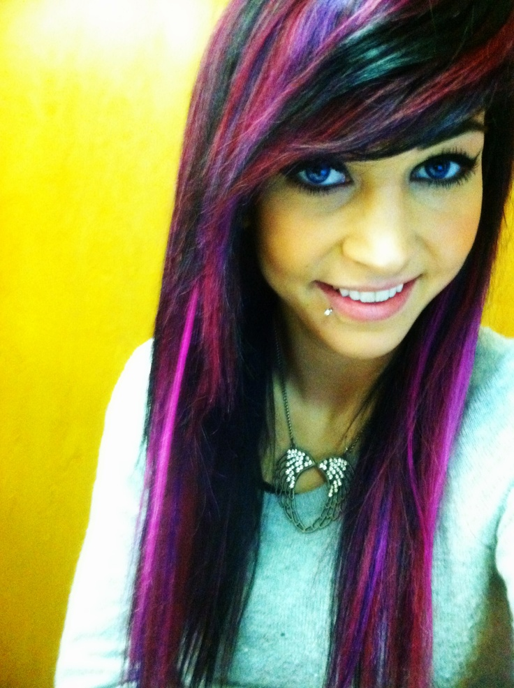 25 Best Ideas About Long Purple Hair On Pinterest Violet Hair All