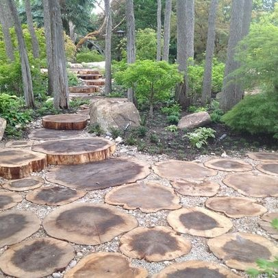 landscape landscaping a wooded lot design ideas pictures remodel