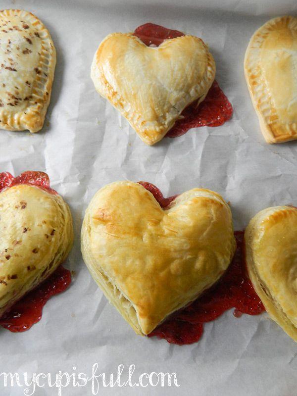 Strawberry Chocolate Hand Pies | Recipe