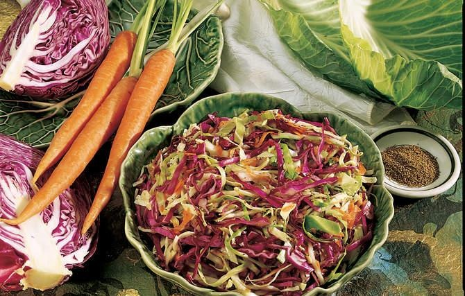 10 tri color slaw with lime dressing 21 24 tri color slaw with lime ...