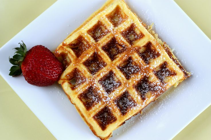... on a whole-grain waffle. Top with pumpkin pie spice and brown sugar