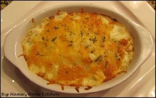 Big Mama's Home Kitchen: Creamy Herb Scalloped Potatoes
