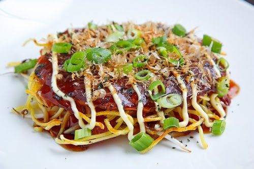 Okonomiyaki, Hiroshima Style Recipes — Dishmaps