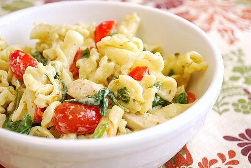 Pesto Chicken Florentine. 2/21- super yummy! Added more garlic and ...