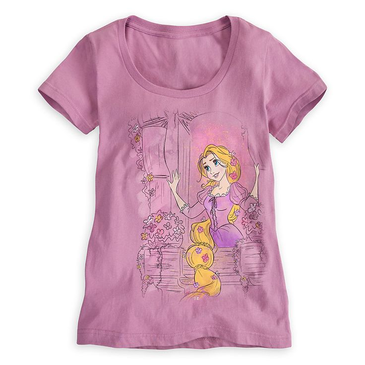 Disney Store Rapunzel Tee Women