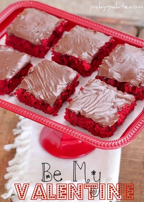 Red velvet sheet cake! | Valentines Day | Pinterest