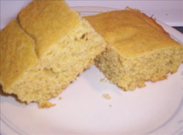 Gluten Free Cornbread from Food.com: This cake like corn bread is so ...