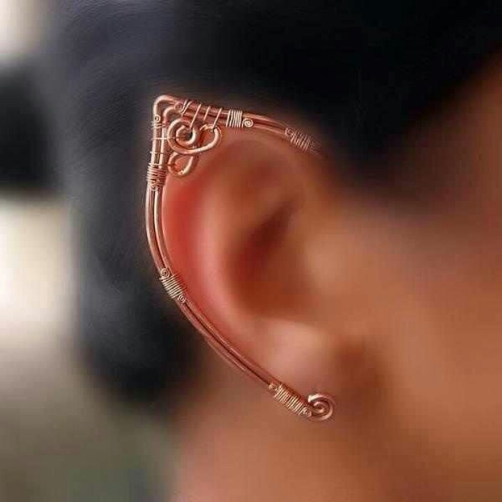 Elf ear cuff | Wirework - Metalwork | Pinterest