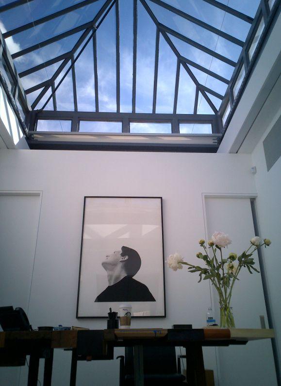 Skylight in Phillip's office