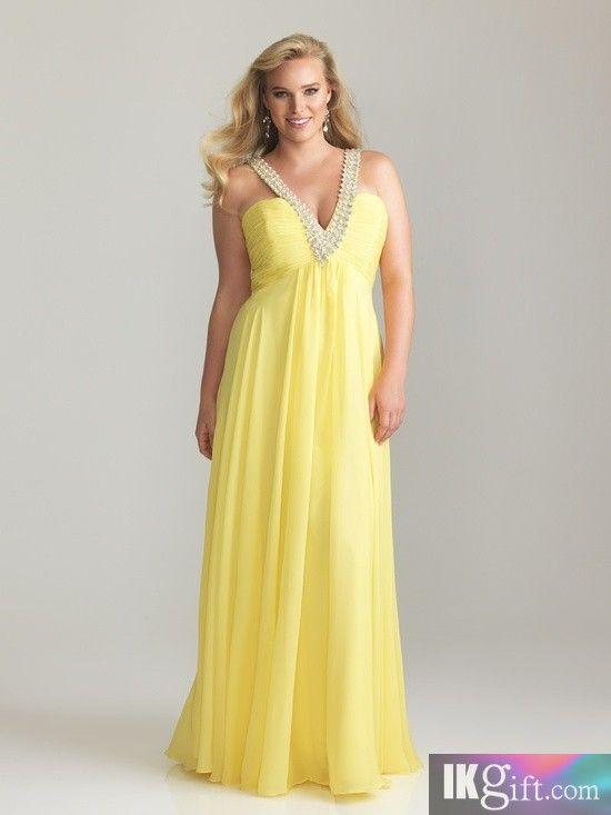Retro Plus Size Prom Dresses