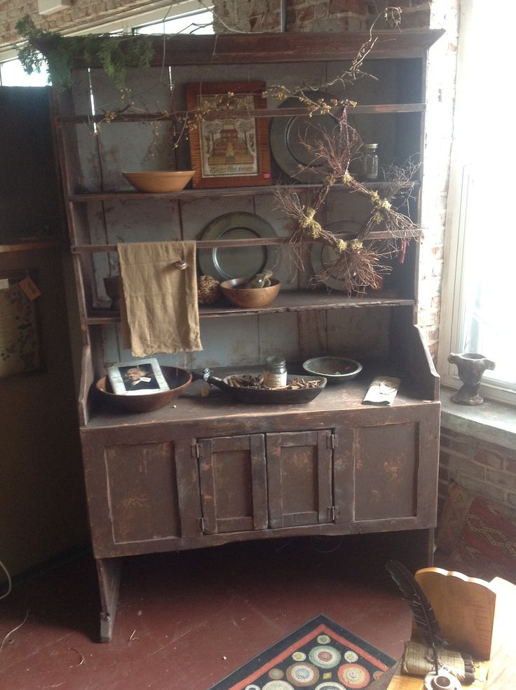 Pin By Kim Strickler On Primitive Furniture Pinterest