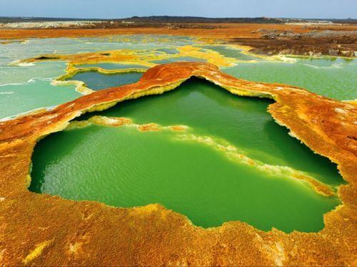 Hot Springs, East Africa