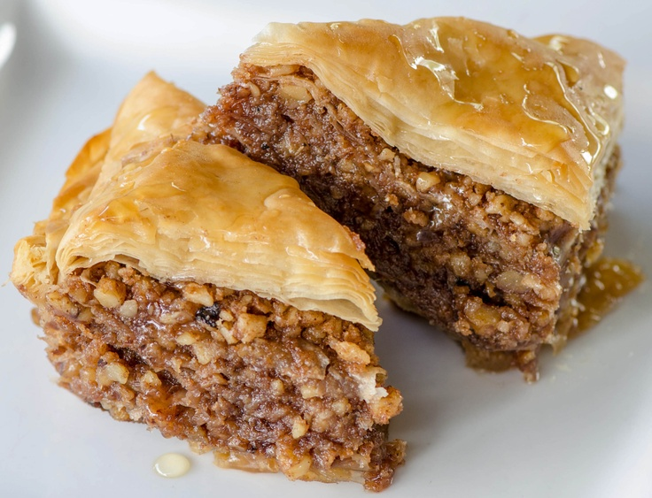 Baklava Greek Dessert | Bunco...Theme...Greek Bunco! | Pinterest