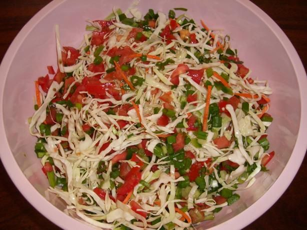 Side - Jalapeno Studded Cole Slaw: This light and spicy new twist on ...