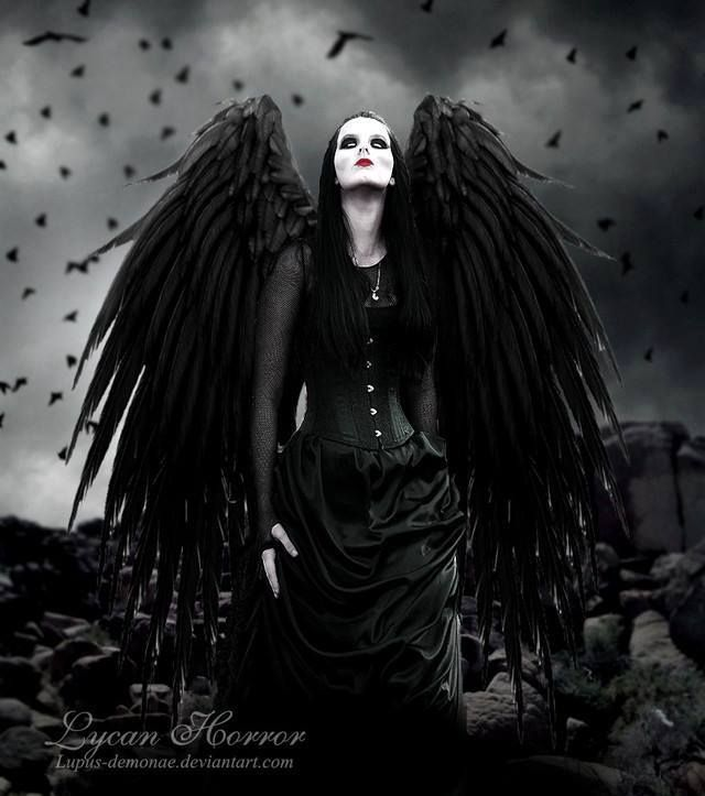 dark horror gothic angel - photo #10