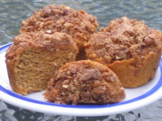 ... pecan streusel orange spice pumpkin muffins with pecan streusel
