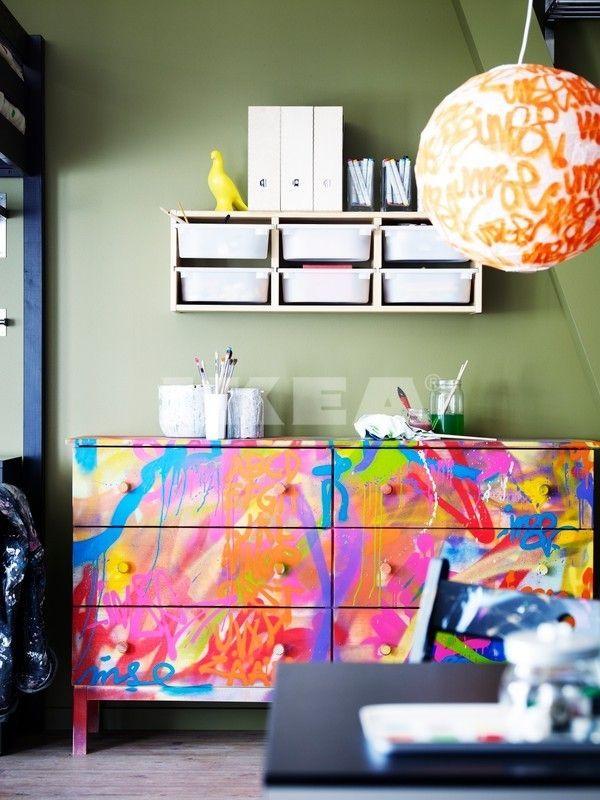 Tarva cassetti dipinti dipingere il tuo bar come questo britt