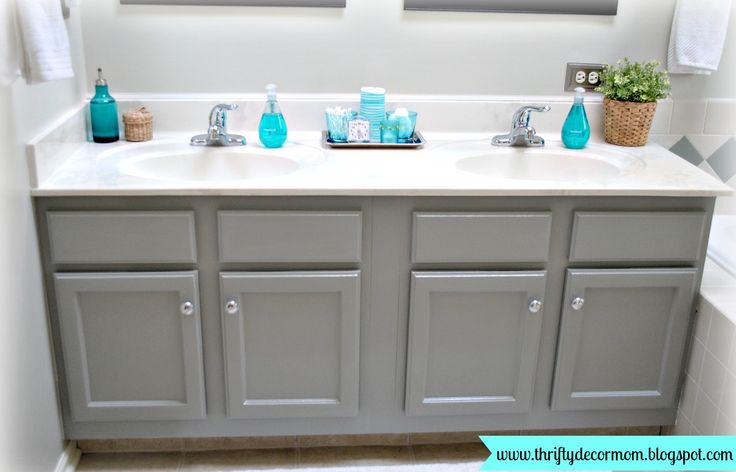 gray painted bathroom cabinets walls bay sands 5008 1b cabinet