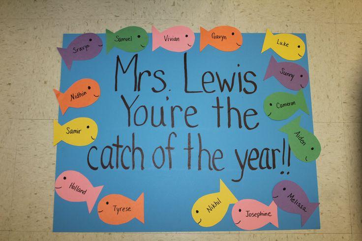 teacher appreciation poster ideas | just b.CAUSE