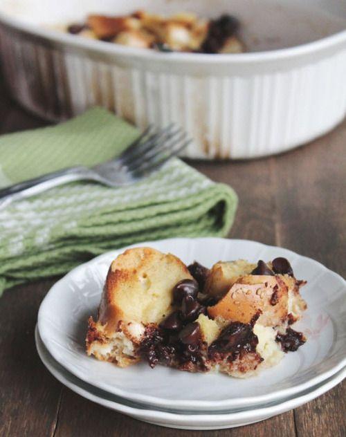 chocolate + cinnamon bread pudding | Eat. | Pinterest