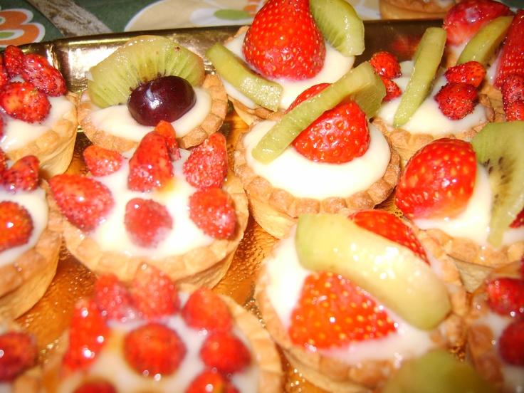 fruit tartelettes | cooking time- food | Pinterest