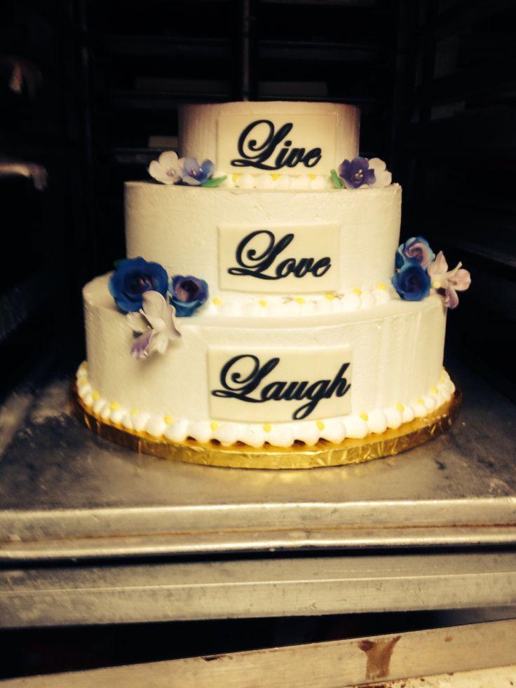 Ice Cream Wedding Cake Its Ice Cream And I Love How Laugh Is The